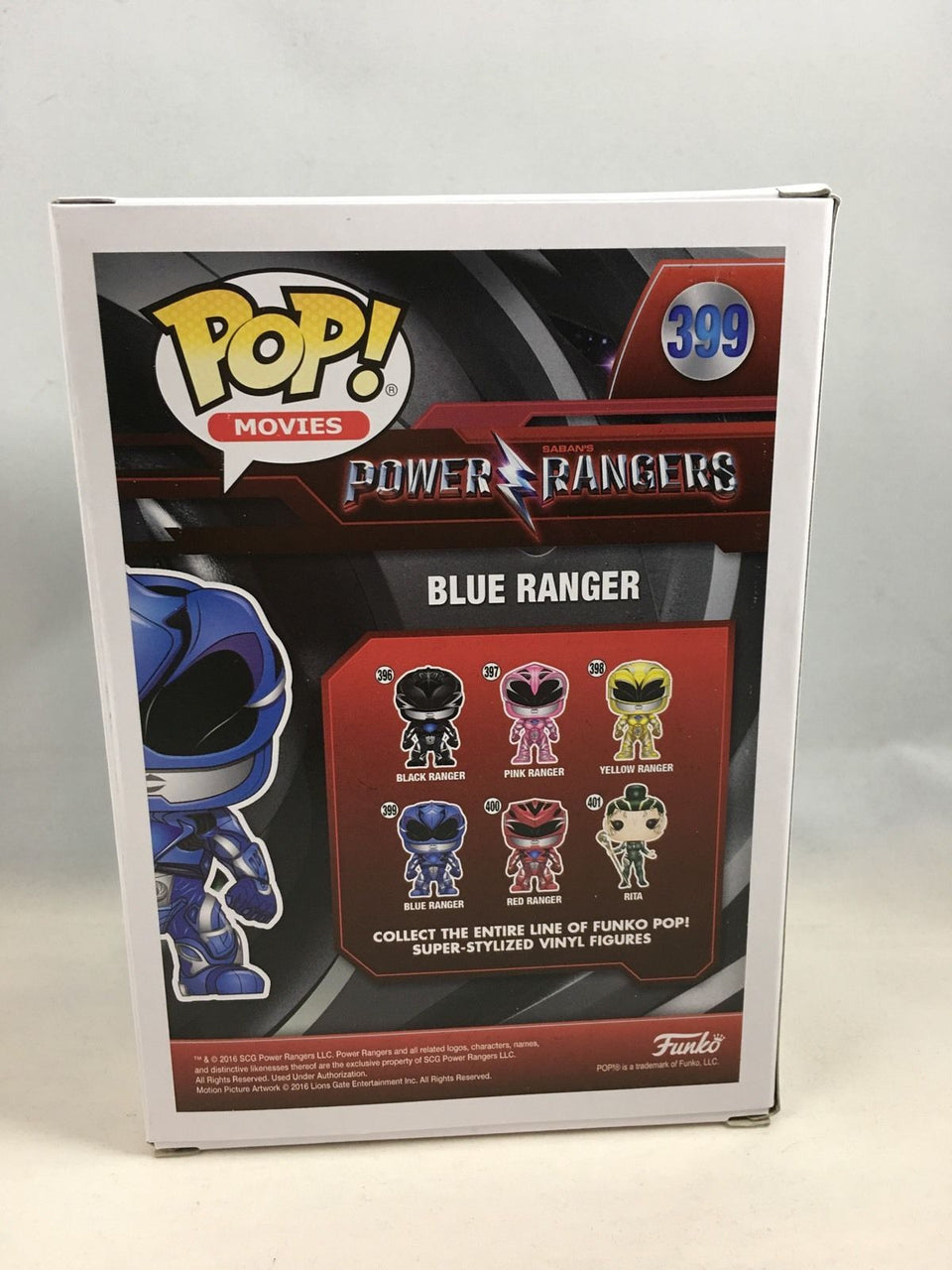 Blue Power Ranger Movie