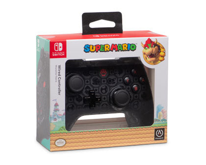Wired Controller Plus - Bowser Shadow Edition - Nintendo Switch