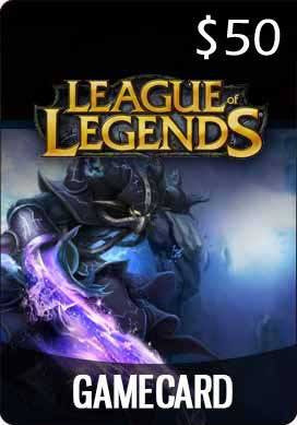 THQ - League of Legends Game Card US$50 [Digital Code]