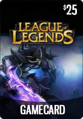 THQ - League of Legends Game Card ($25) - Riot Points 25 US [Digital Code]