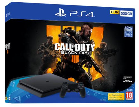 PlayStation 4 Slim 500GB Console - Black Ops 4
