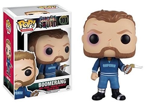Funko POP Movies: Suicide Squad Action Figure, Boomerang