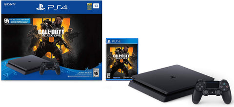 PlayStation 4 Slim 1TB Console - Call of Duty: Black Ops 4 Bundle + TSHIRT BY @ALEXTILOLIBRE + LLAVERO DE ELECCIÓN