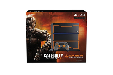 PS4 FAT 2da Generación - 1TB Console - Black Ops III Limited Edition (Sin juego)