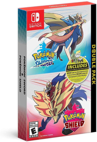 Pokemon Sword and Pokemon Shield Double Pack - Nintendo Switch