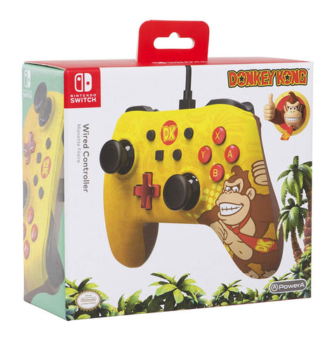 Wired Controller Plus - Donkey Kong Edition - Nintendo Switch