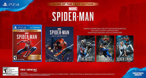 Spider-Man - PlayStation 4 - Game of the Year Edition
