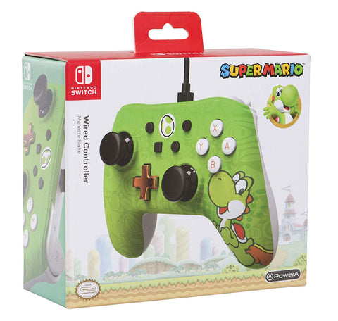 Wired Controller Plus - Yoshi Edition - Nintendo Switch