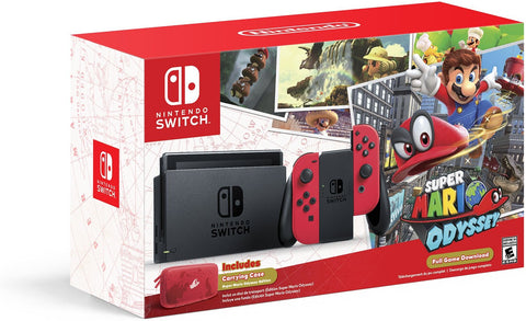 Nintendo Switch - Super Mario Odyssey Limited Edition