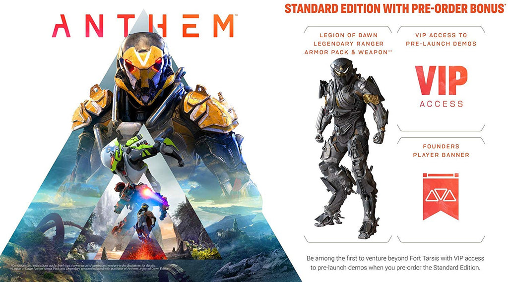 Anthem - PlayStation 4 - Segunda Mano