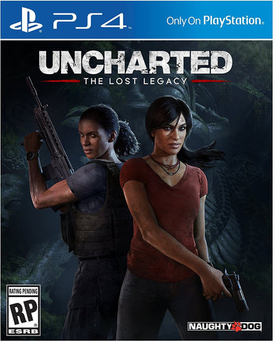 Uncharted: The Lost Legacy - PlayStation 4 - Segunda Mano