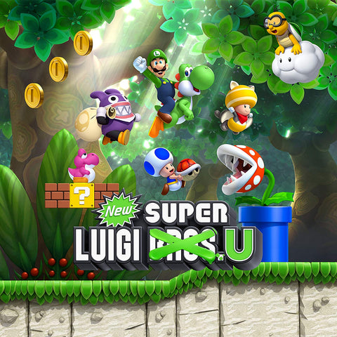 New Super Mario Bros. U + New Super Luigi U - Segunda Mano
