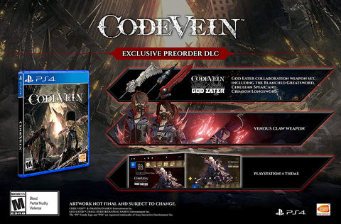 Code Vein - PlayStation 4 (ESTRENA 2019)