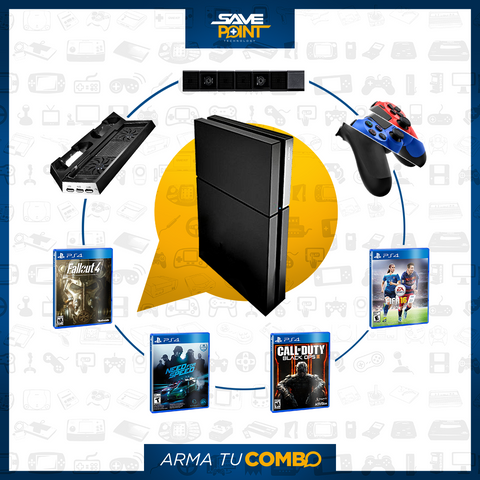 PS4 Slim 500GB - ¡Armalo a tu Gusto!