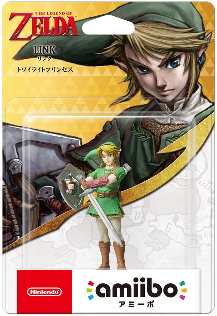 Amiibo Link The Twilight Princess ( The legend series of Zelda ) Japan Import