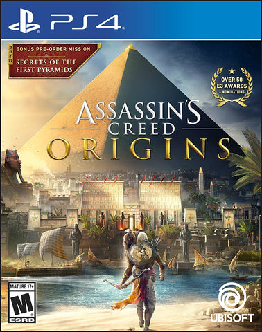 Assassin's Creed Origins - PlayStation 4 (PRE ORDEN, ESTRENA 27.10.2017)