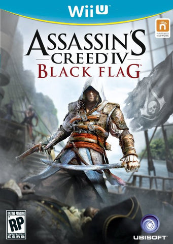 Assassins Creed IV Black Flag - Wii U - Segunda Mano