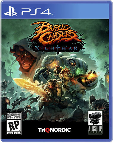 Battle Chasers: Nightwar - PlayStation 4 (PRE ORDEN, ESTRENA 03.10.2017)
