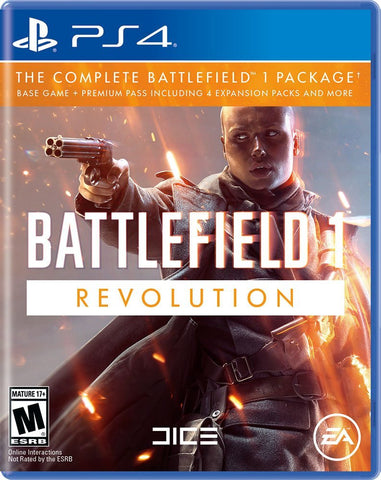 Battlefield 1: Revolution Edition- Playstation 4