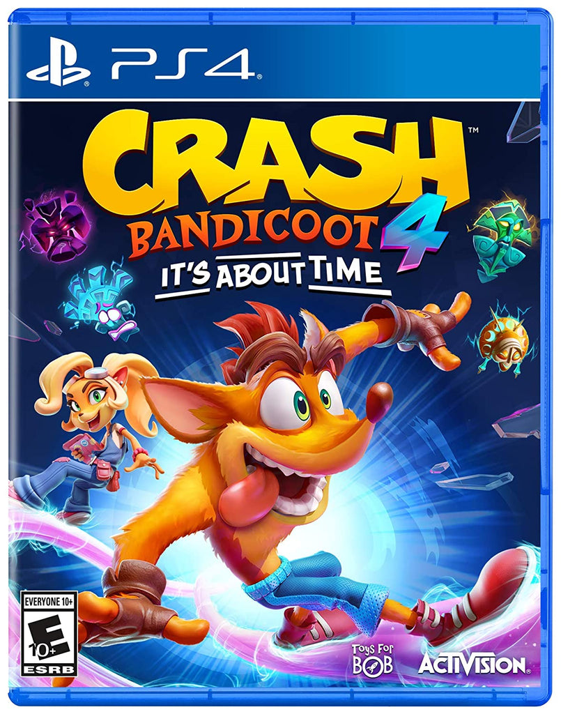 Crash 4: It's About Time - PlayStation 4 (PRE-ORDEN, ESTRENA 2.10.2020)