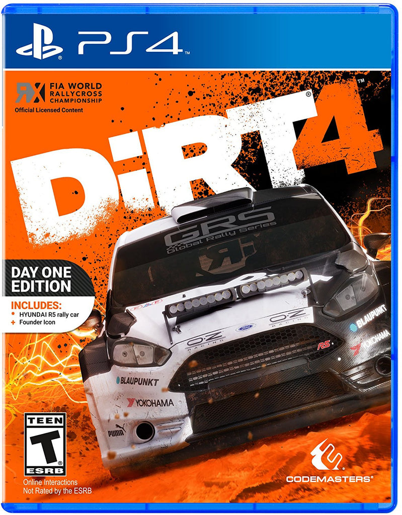 Dirt 4 - Playstation 4 - Segunda Mano