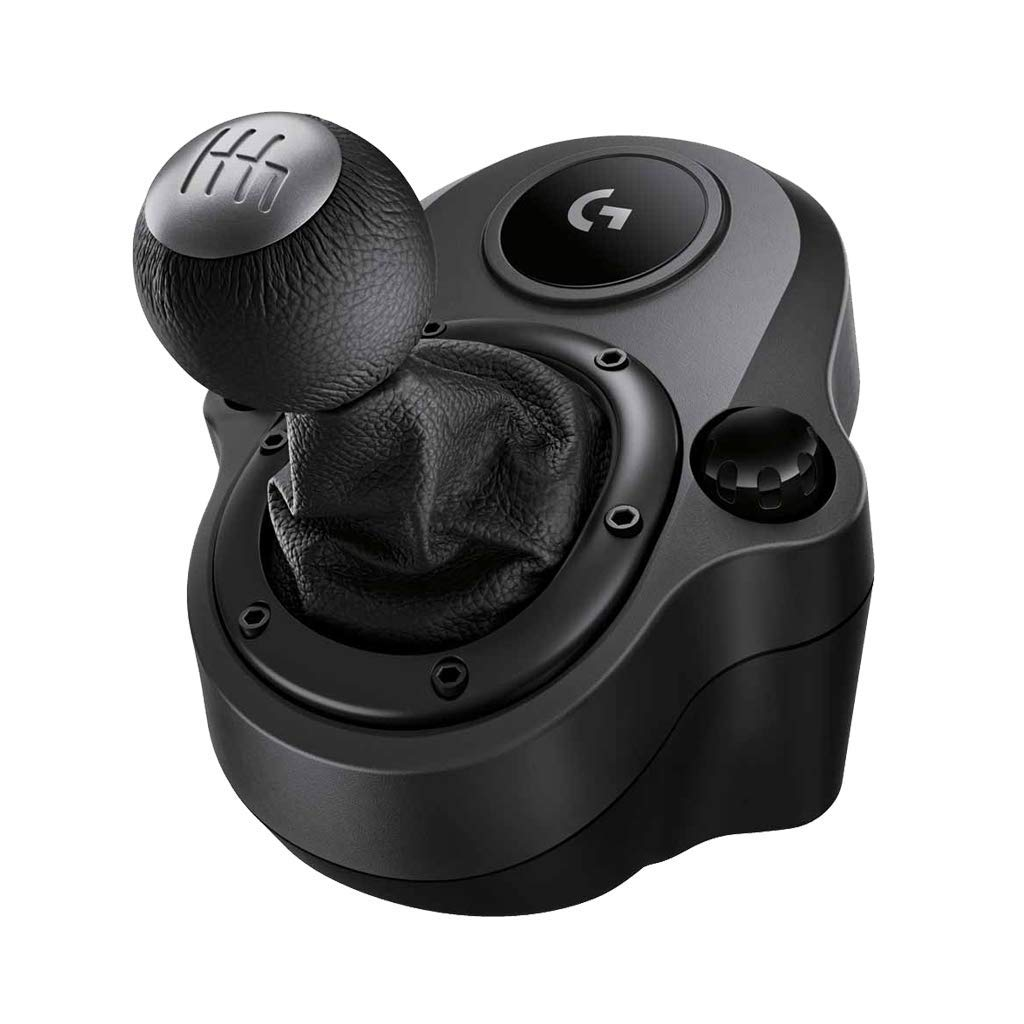 – Logitech G Driving Force Shifter – Compatible with G29 and G920 Driving Force Racing Wheels for Playstation 4, Xbox One, and PC