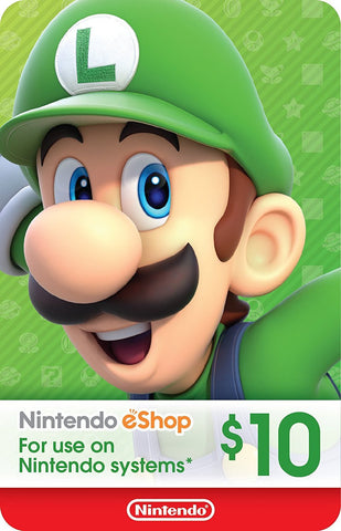 eCash - Nintendo eShop Gift Card $10 - Switch / Wii U / 3DS [Digital Code]