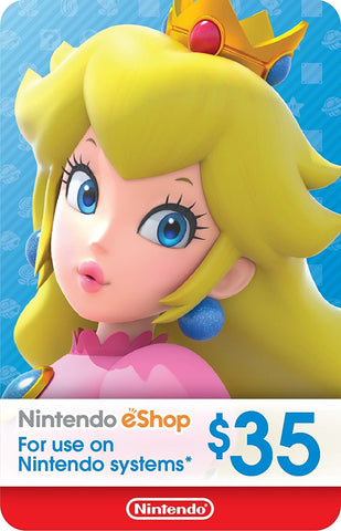 eCash - Nintendo eShop Gift Card $35 - Switch / Wii U / 3DS [Digital Code]