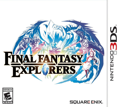 Final Fantasy Explorers - Nintendo 3DS - Segunda Mano