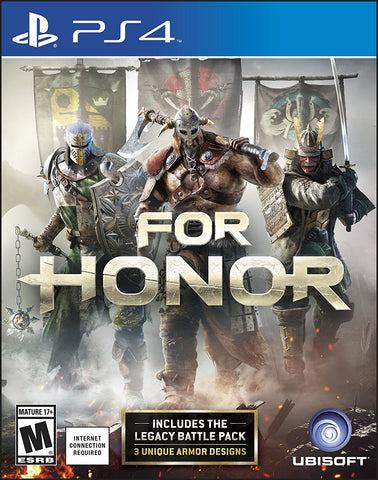 For Honor - Playstation 4 - Segunda Mano