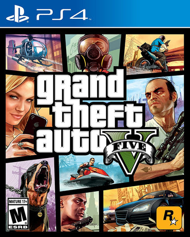 Grand Theft Auto V - GTA V - PlayStation 4