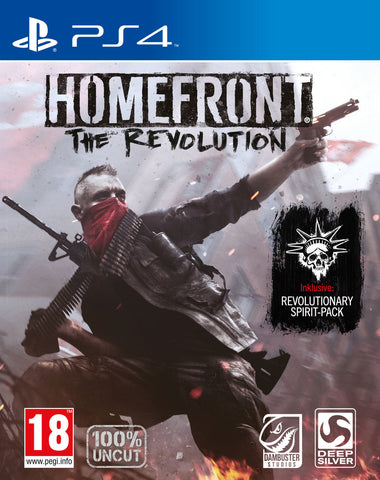 Homefront The Revolution - Playstation 4 - Segunda Mano
