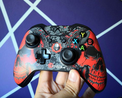Xbox One Wireless Control - Customizados - Gear Of War