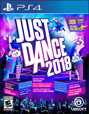 Just Dance 2018 - PlayStation 4 (PRE ORDEN, ESTRENA 24.10.2017)