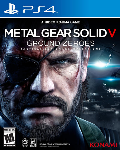 Metal Gear Solid V Ground Zeroes - Playstation 4 - Segunda Mano