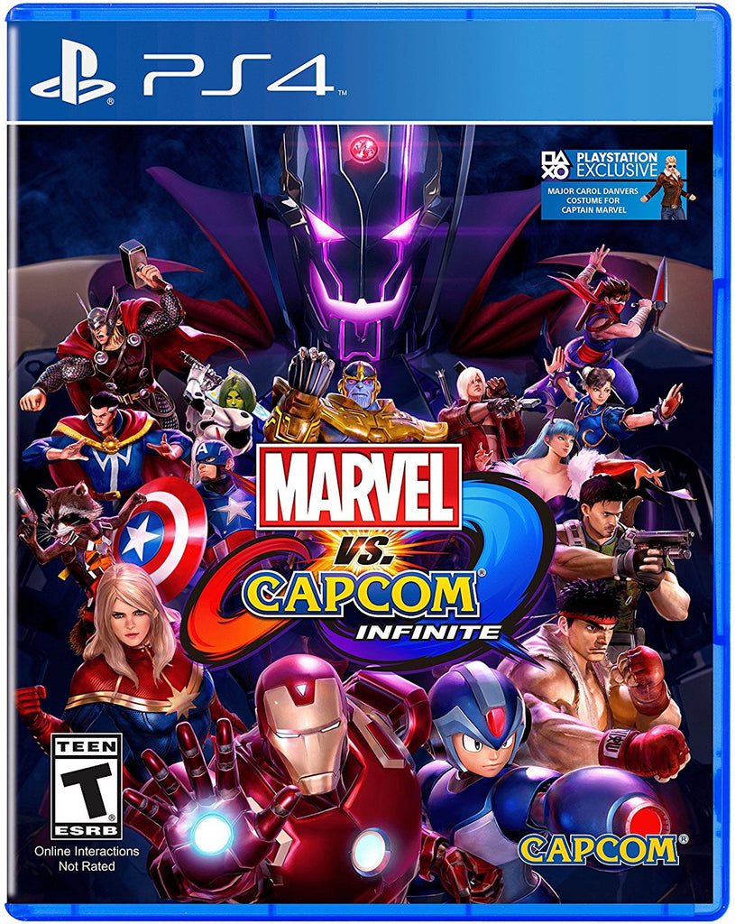 Marvel vs. Capcom: Infinite - Standard Edition - PlayStation 4 - Segunda Mano