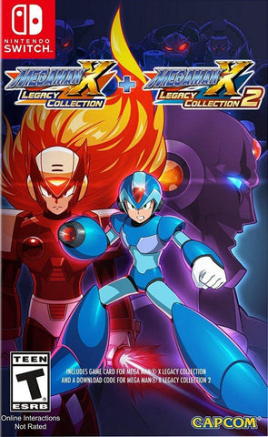 Mega Man X Legacy Collection 1 + 2 - Nintendo Switch