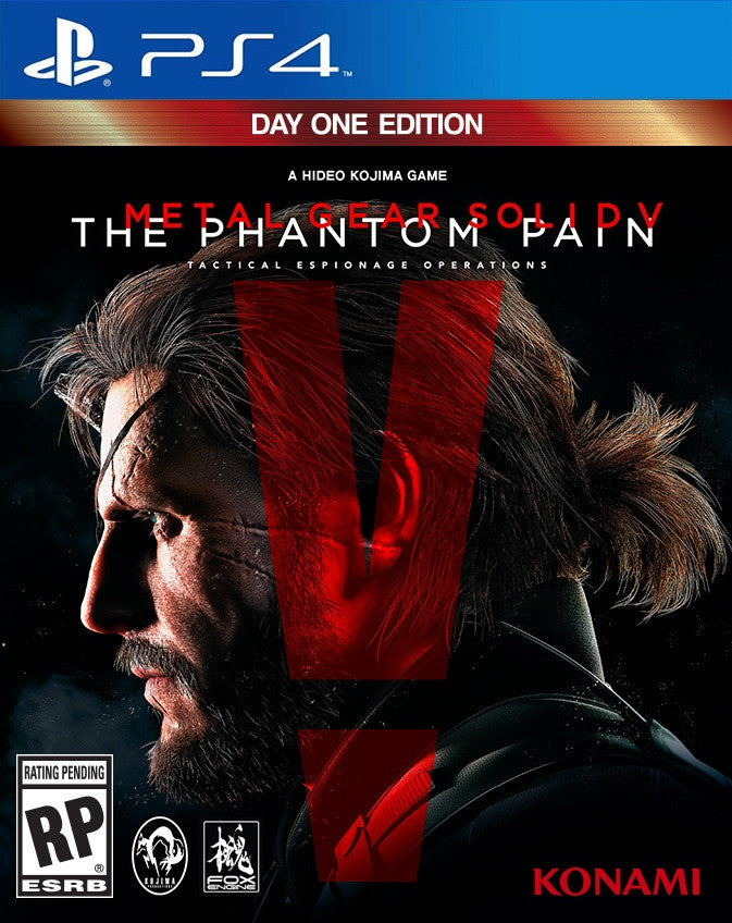 Metal Gear Solid V The Phantom Pain - PlayStation 4