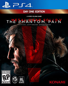 Metal Gear Solid V Phantom Pain - Playstation 4 - Segunda Mano