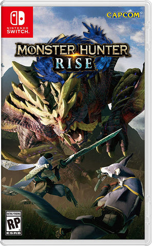 Monster Hunter: Rise -  Nintendo Switch (PRE-ORDEN, ESTRENA 26-3-2020)
