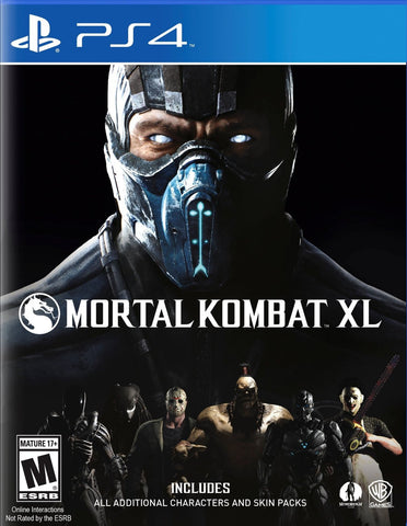 Mortal Kombat XL - Playstation 4 - Segunda Mano