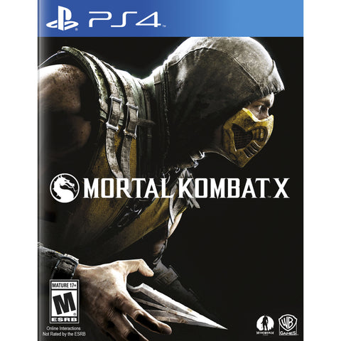 Mortal Kombat X - PlayStation 4 - Segunda Mano