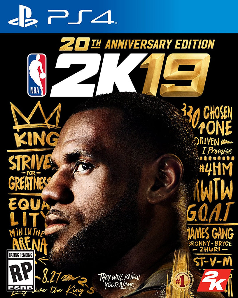 NBA 2K19: 20th Anniversary Edition - PlayStation 4