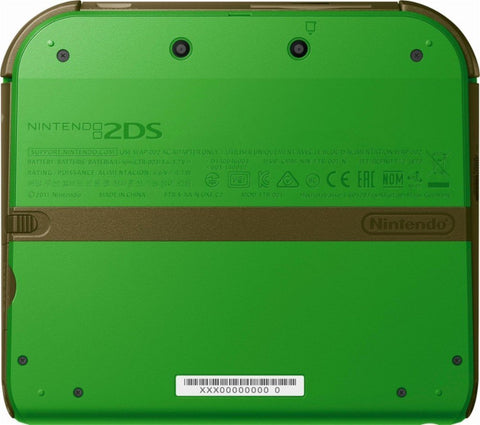 Nintendo 2DS with the Legend of Zelda Ocarina of Time 3D (Link Edition)