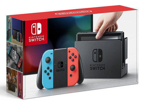 Nintendo Switch - Neon Blue and Red Joy-Con - Segunda Mano