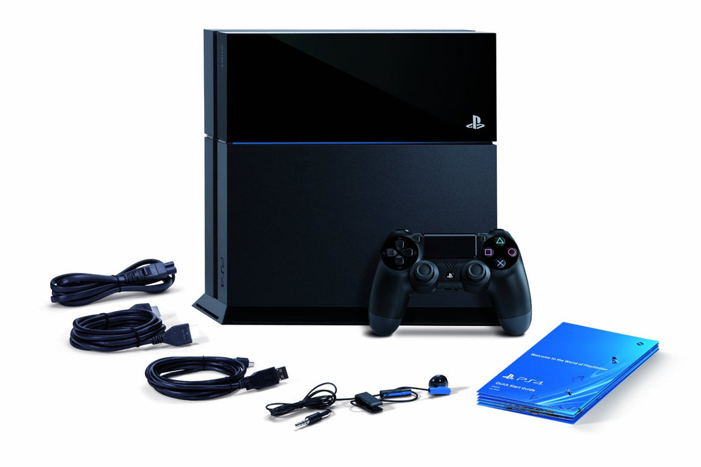 PS4 500GB - Playstation 4 Black Core - Segunda Mano (1st Gen) + Tshirt + Llavero