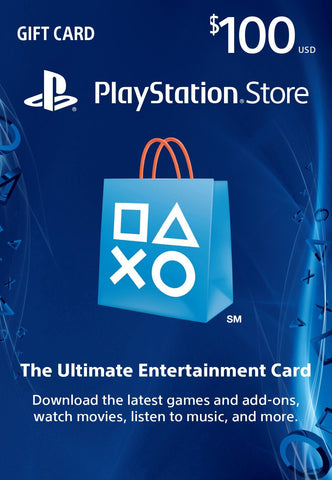USD$100 PlayStation Store Gift Card - PS3/ PS4/ PS Vita [Digital Code]
