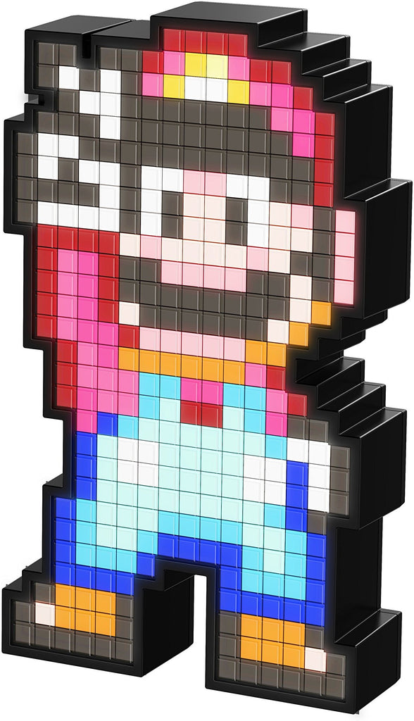 PDP Pixel Pals Nintendo Super Mario World Mario Collectible Lighted Figure