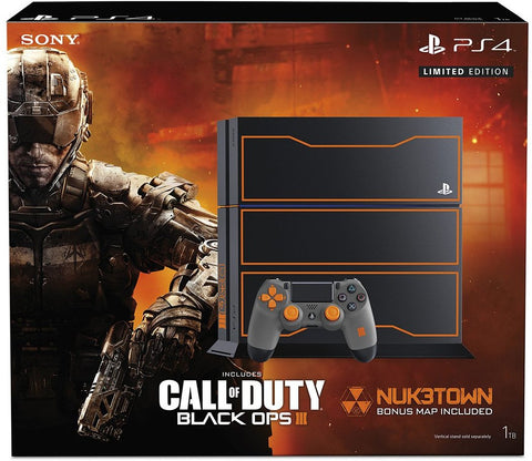 PlayStation 4 1TB Console - Call of Duty: Black Ops 3 Limited Edition Bundle - Segunda Mano