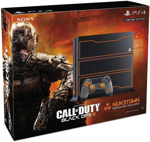 PlayStation 4 FAT 1TB - Black OPS 3 Special Edition - Segunda Mano